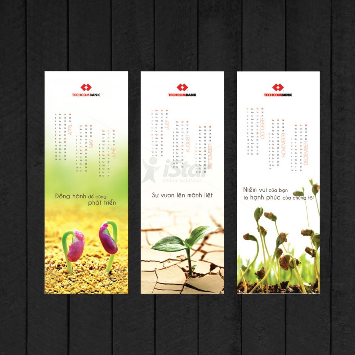 thiết kế lịch xuân lịch tết 2016
