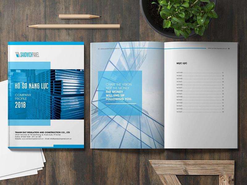 Chúng tôi cũng cung cấp dịch vụ in ấn với sự đảm bảo về chất lượng cao nhất đối với profile thành phẩm