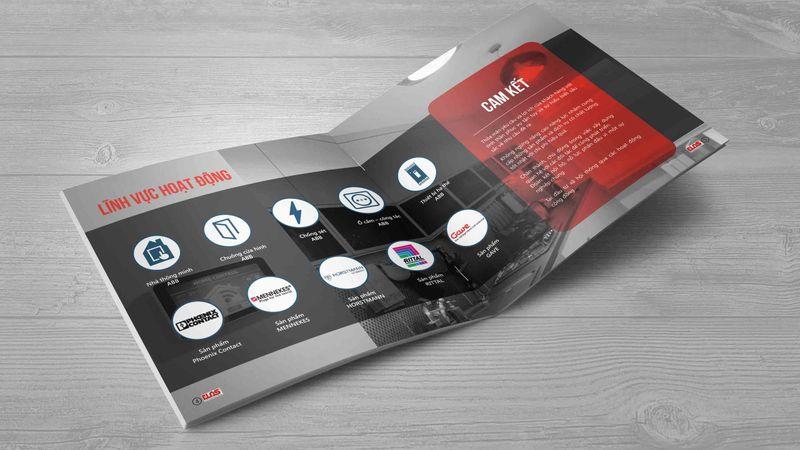 Thiết kế profile công ty Elas
