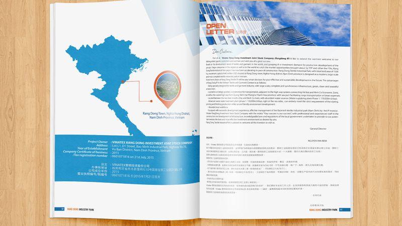 Thiết kế profile công ty Rạng Đông