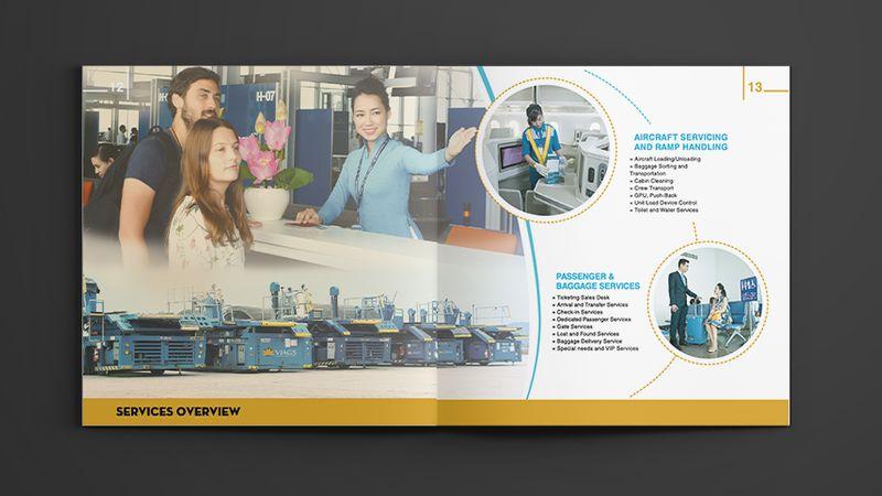 Thiết kế profile công ty cảng hàng không