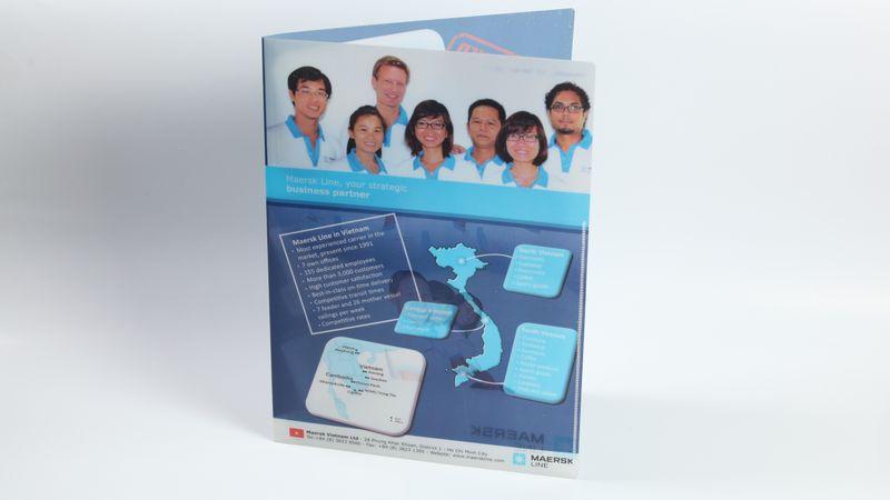 Thiết kế folder nhựa in folder nhựa