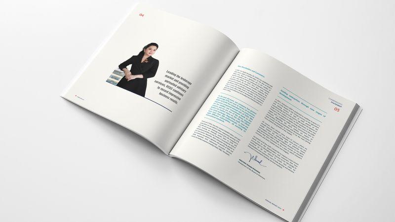 Thiết kế báo cáo thường niên VCSC