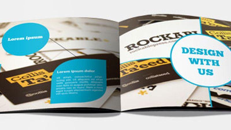 Brochure Booklet Art