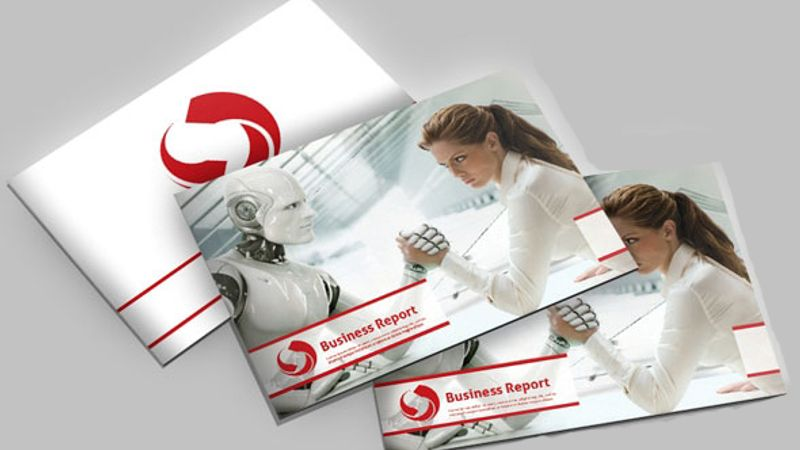 Brochure Business Report A4