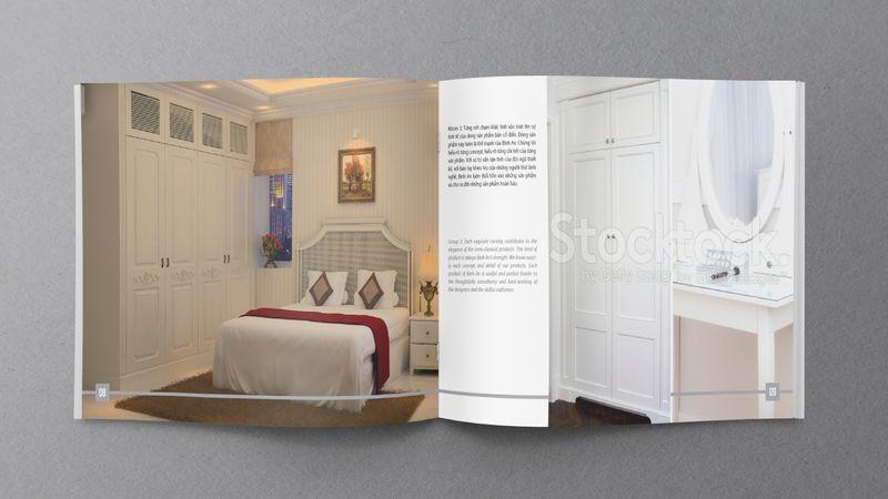 Thiết kế catalogue công ty du lịch Bình An
